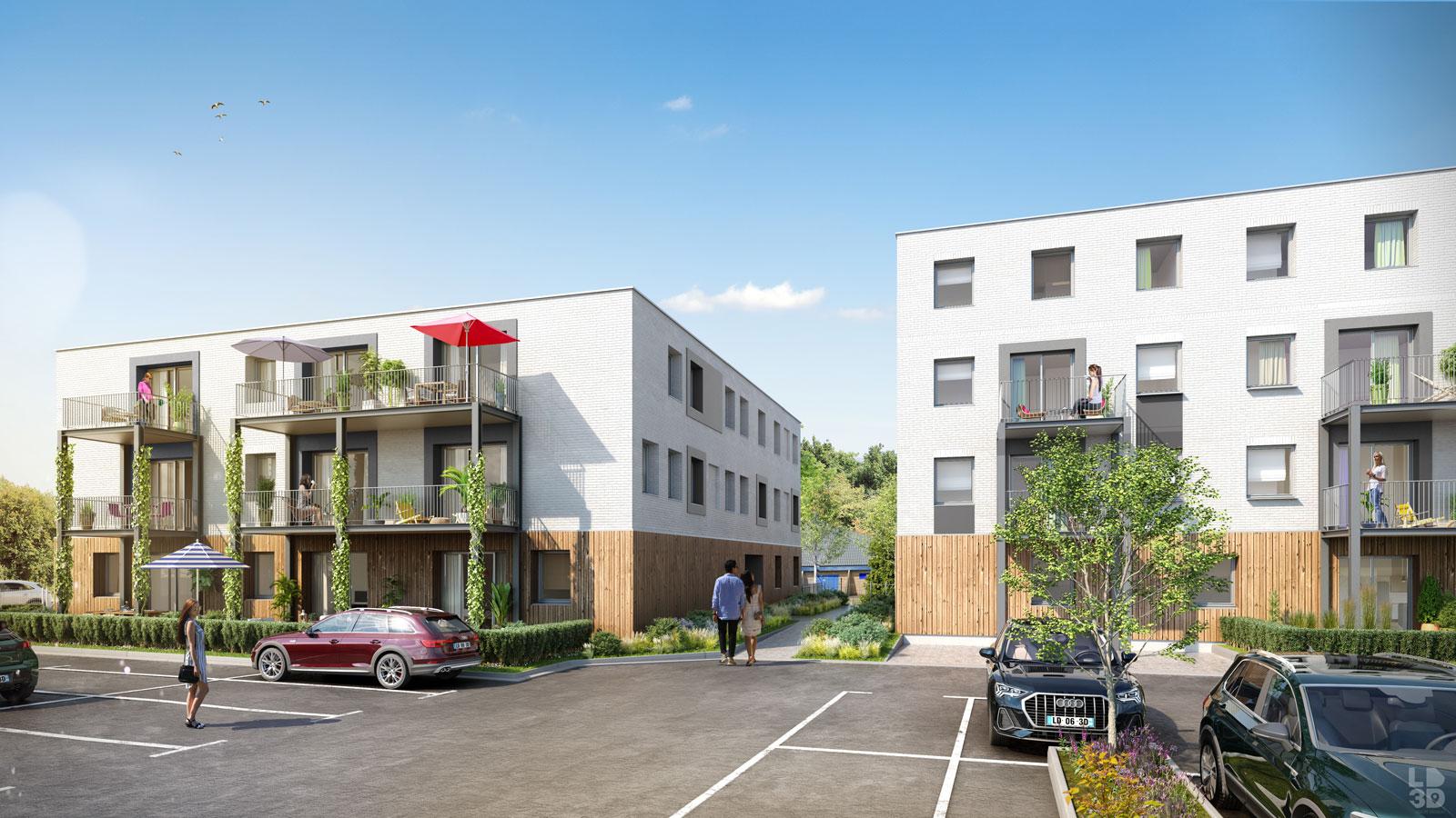 Programme immobilier Jules & Fernand - Marcq en Baroeul